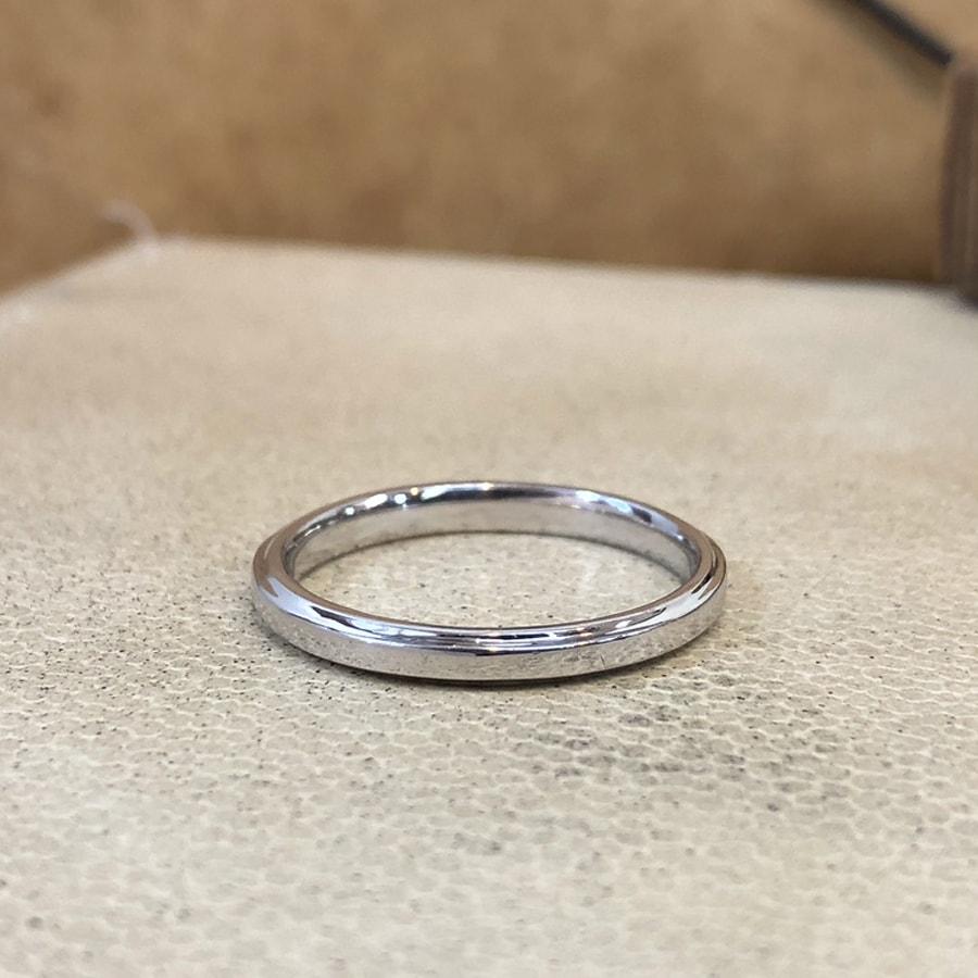 マリッジリング、結婚指輪 「grazia(グラッツィア)」男性用右側