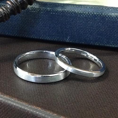 マリッジリング、結婚指輪 「horizon(オリゾン)」