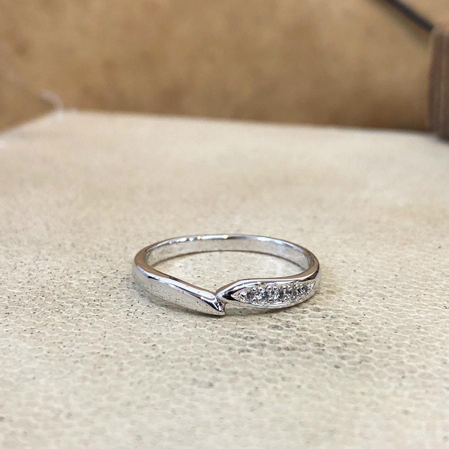 マリッジリング、結婚指輪 「legame(レガーメ)」女性用正面