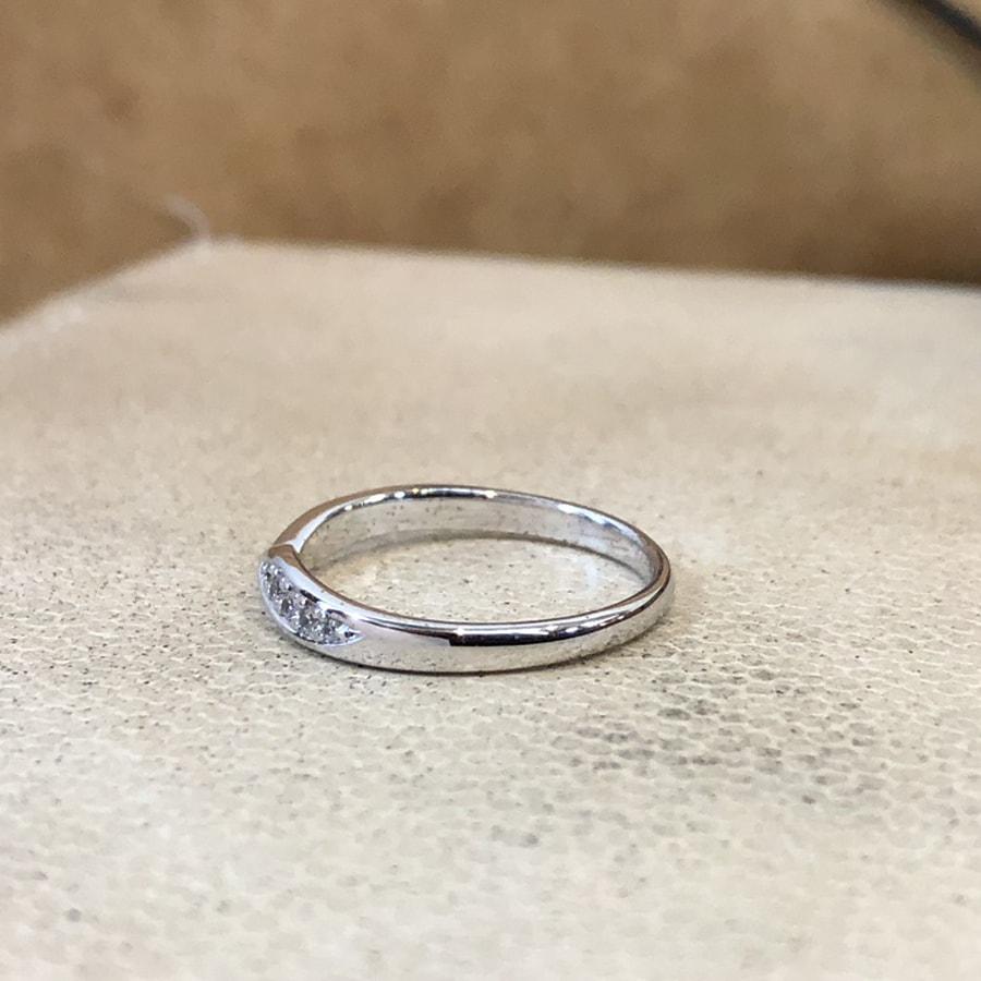 マリッジリング、結婚指輪 「legame(レガーメ)」女性用左側