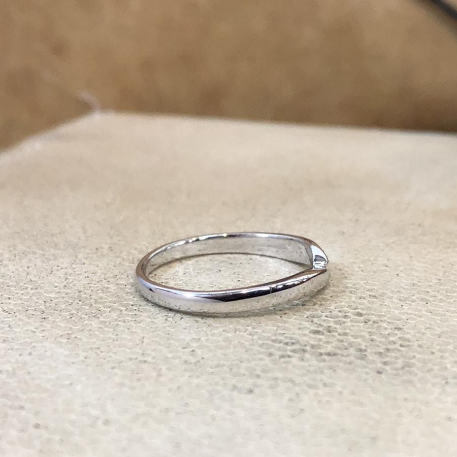 マリッジリング、結婚指輪 「legame(レガーメ)」女性用右側