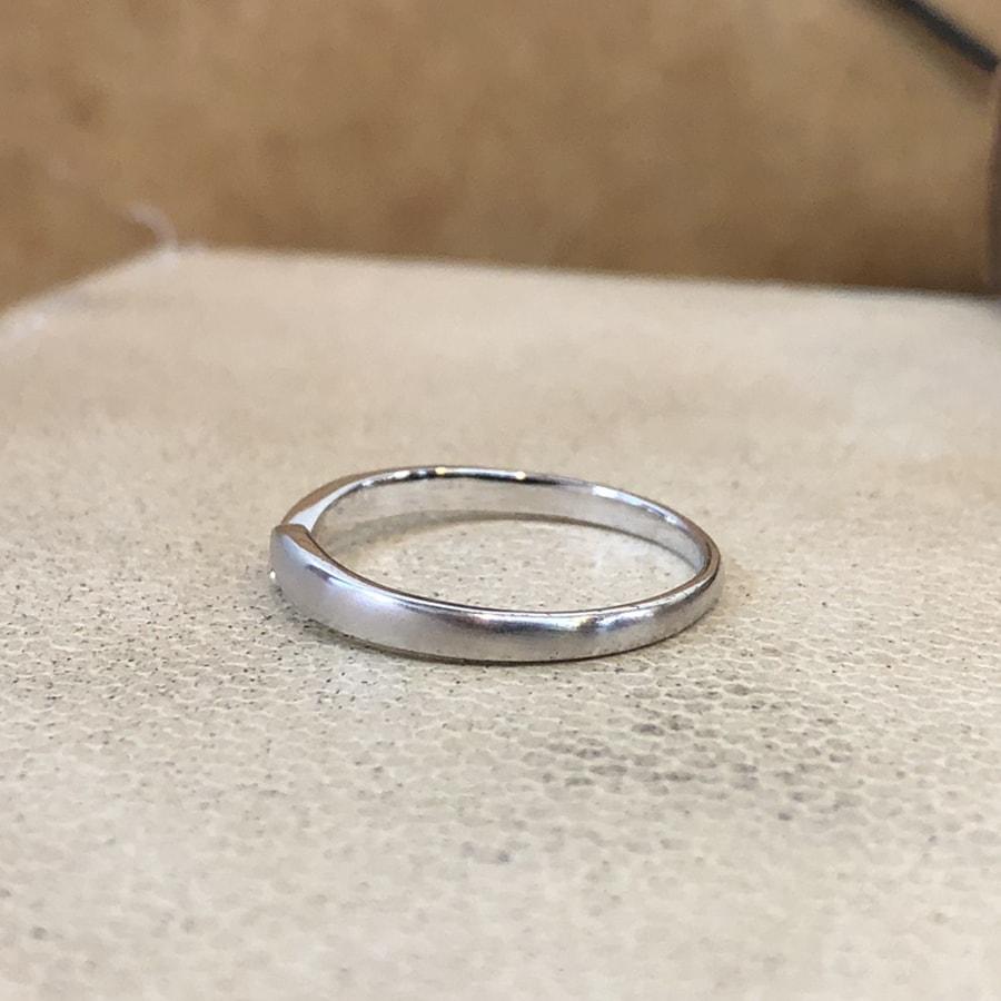 マリッジリング、結婚指輪 「legame(レガーメ)」男性用左側