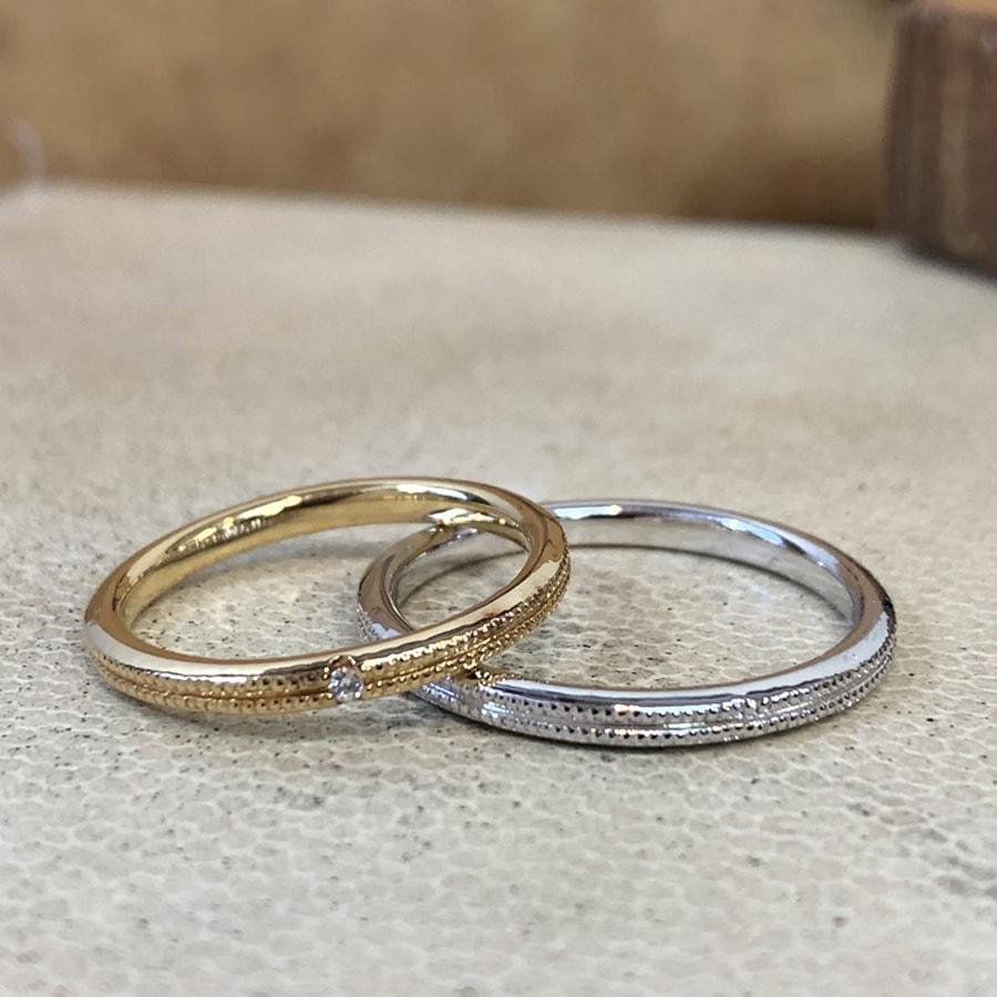 マリッジリング、結婚指輪 「onesto(オネスト)」1