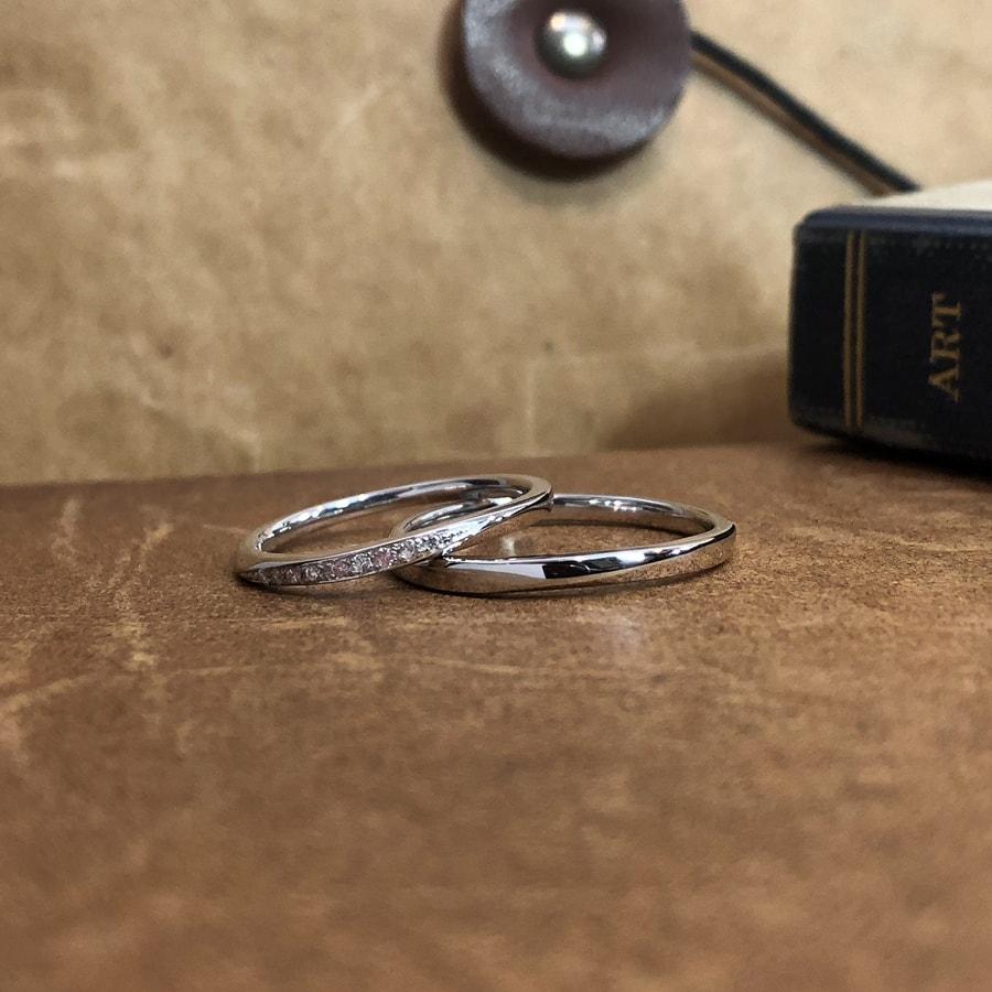 マリッジリング、結婚指輪 「palette(パレット)」2