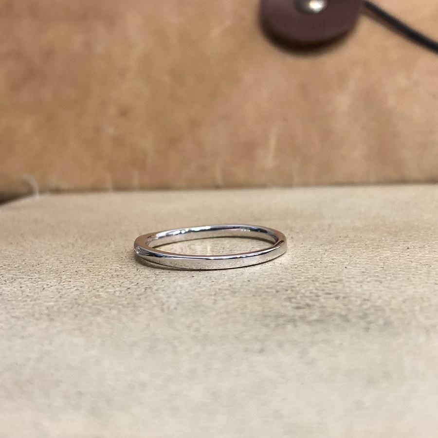 マリッジリング、結婚指輪 「palette(パレット)」女性用左側