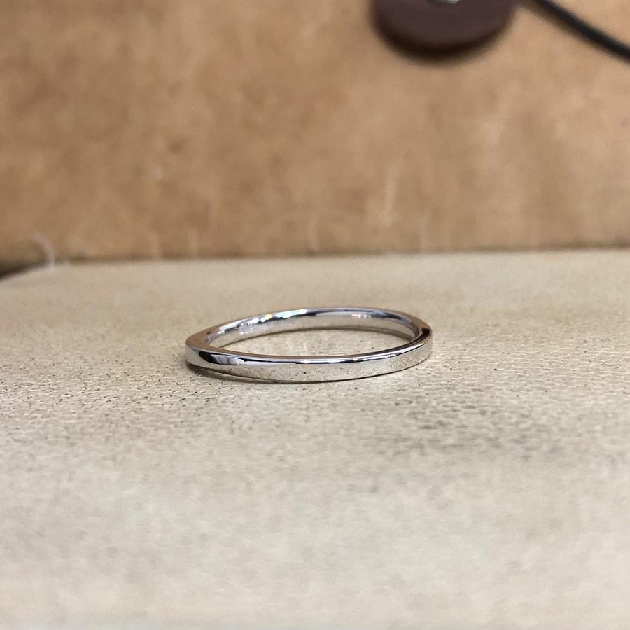 マリッジリング、結婚指輪 「palette(パレット)」男性用左側