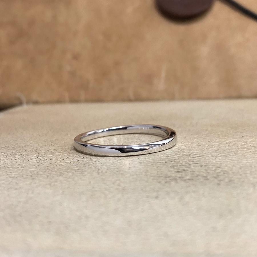 マリッジリング、結婚指輪 「palette(パレット)」男性用右側