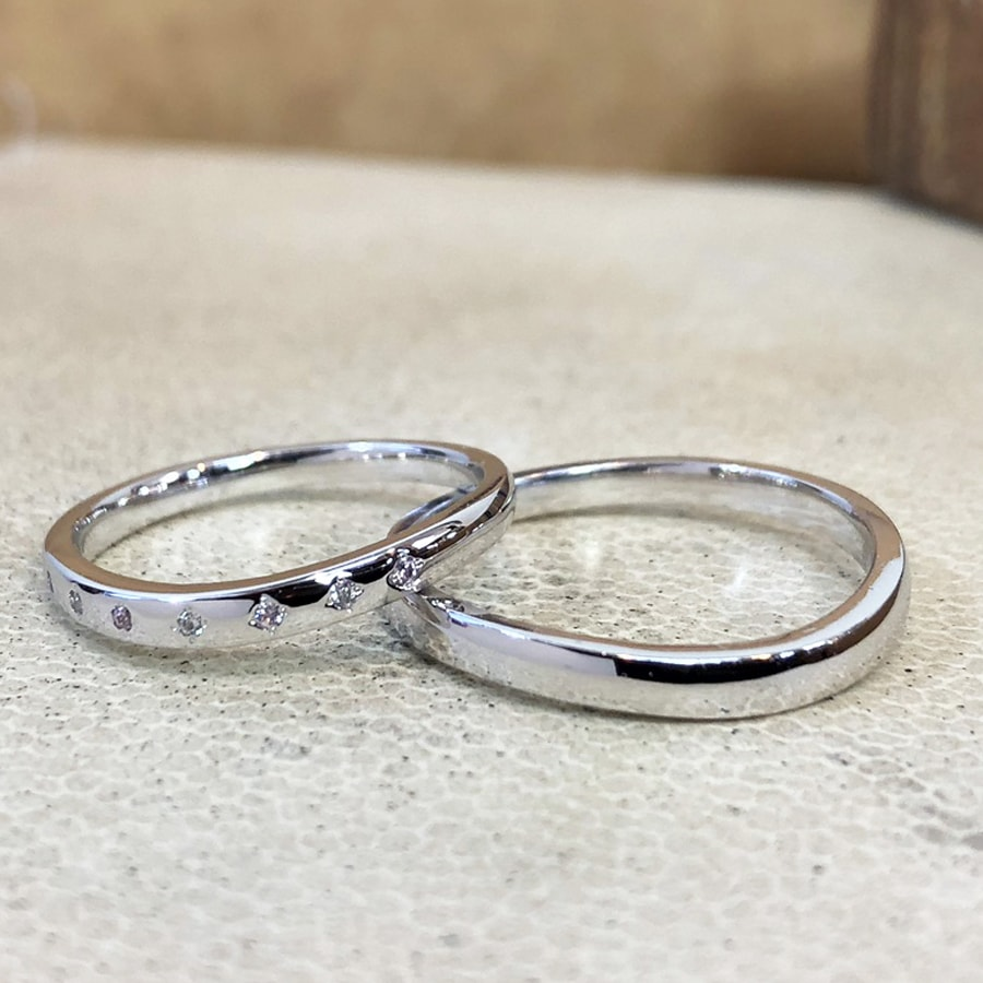 マリッジリング、結婚指輪 「puro(プーロ)」1