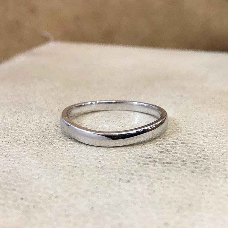 マリッジリング、結婚指輪 「puro(プーロ)」男性用正面