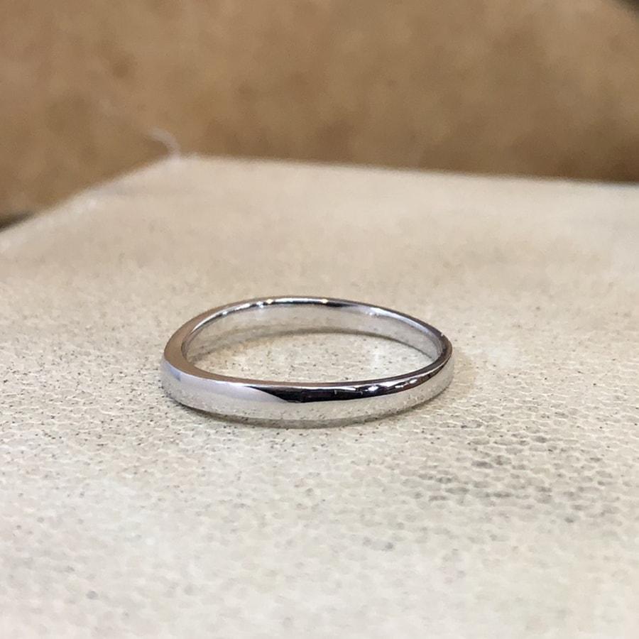 マリッジリング、結婚指輪 「puro(プーロ)」男性用左側