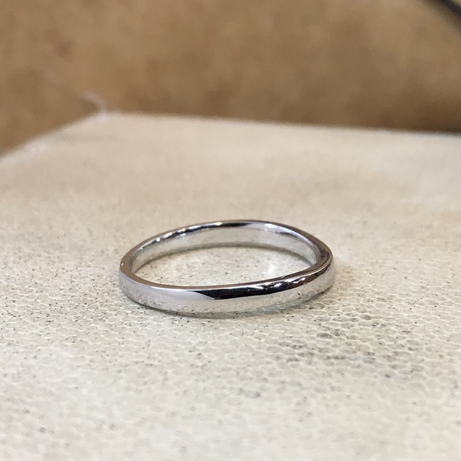 マリッジリング、結婚指輪 「puro(プーロ)」男性用右側