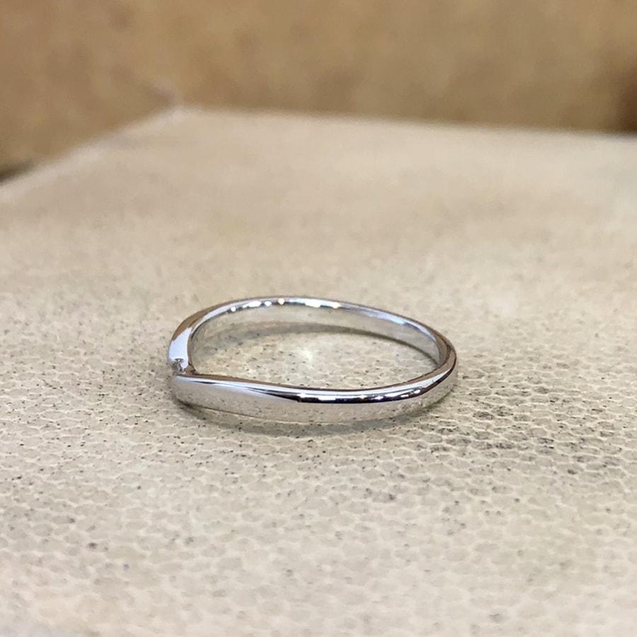 マリッジリング、結婚指輪 「vicino(ヴィチーノ)」女性用左側