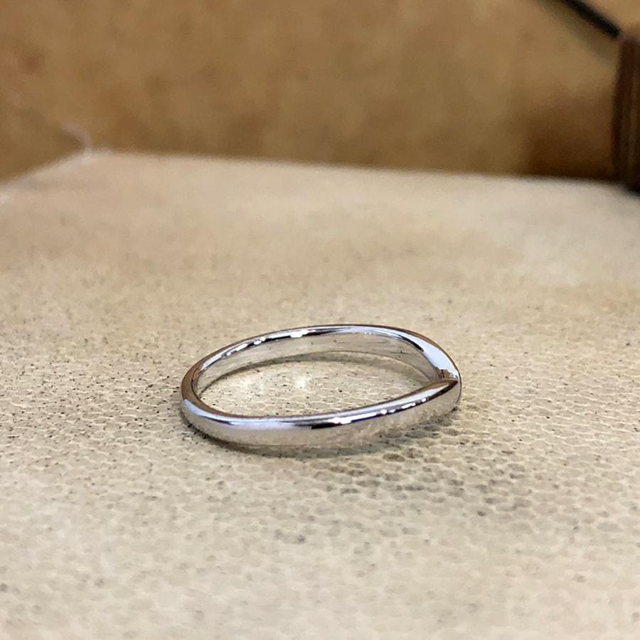マリッジリング、結婚指輪 「vicino(ヴィチーノ)」女性用右側