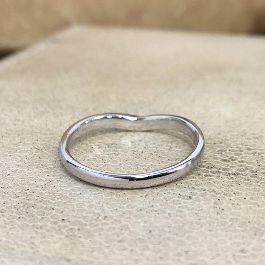 マリッジリング、結婚指輪 「vicino(ヴィチーノ)」男性用後ろ