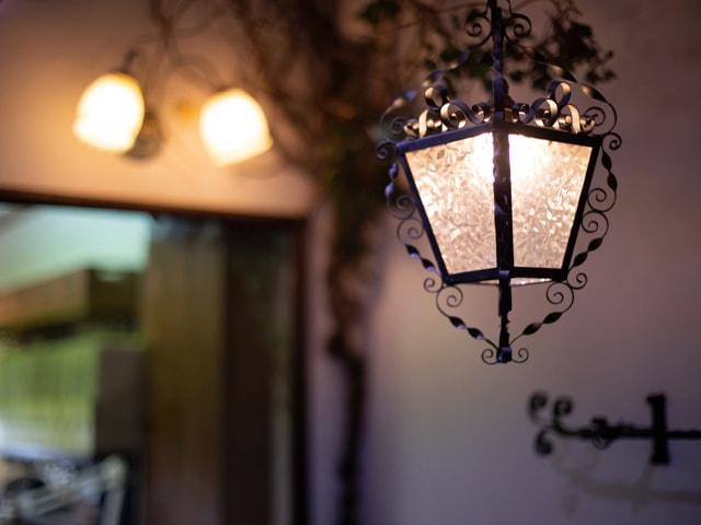 アンティーク照明1