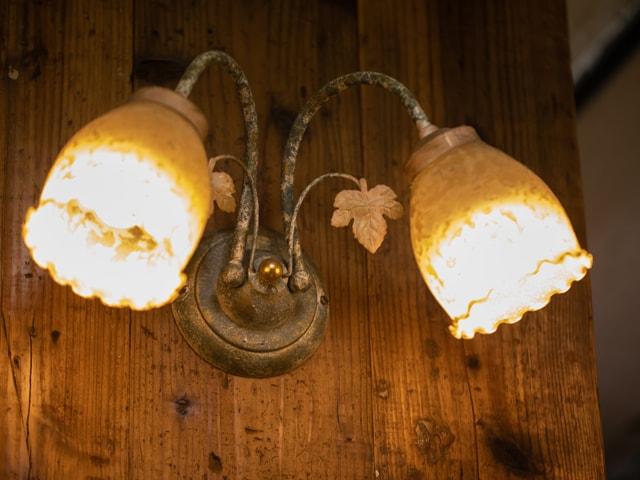 アンティーク照明3