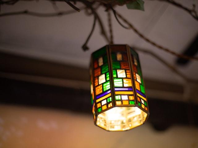 アンティーク照明4