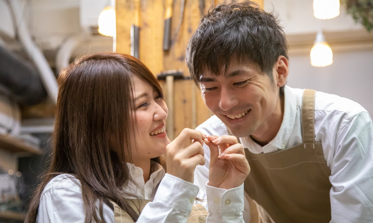 結婚指輪手作りプラン特徴2