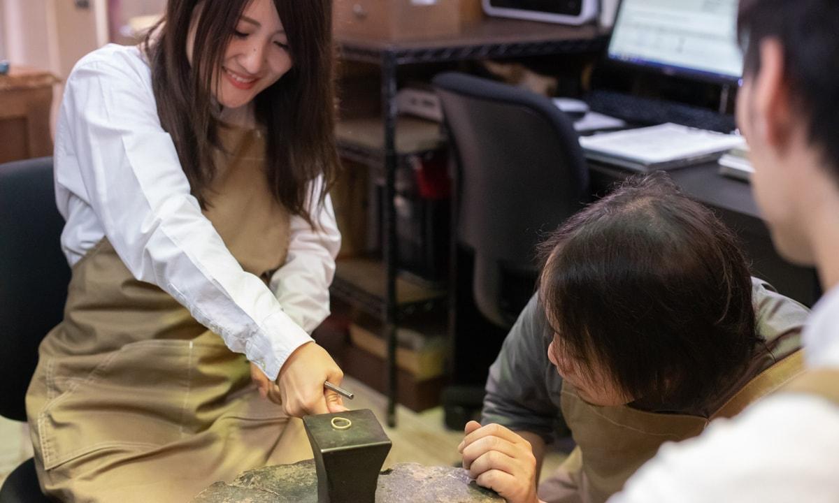 結婚指輪手作りプラン特徴