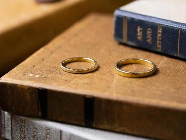 ケルヒのオリジナル結婚指輪
