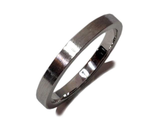 鍛造結婚指輪仕上げ「ヘアライン仕上げ」