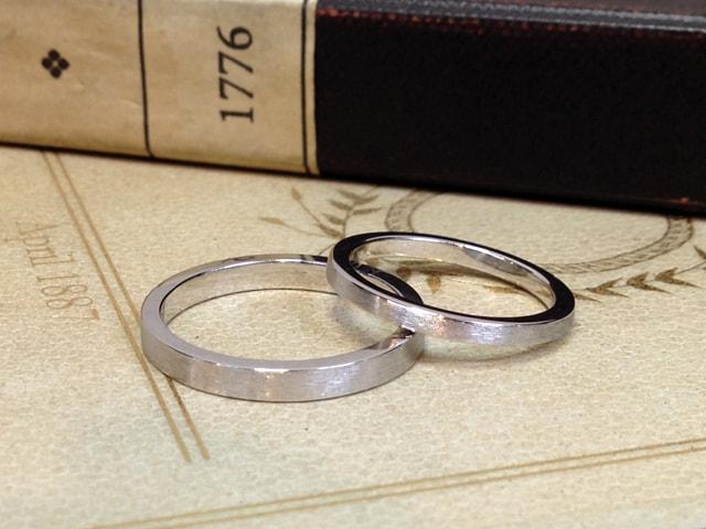 結婚指輪手作りプラン鍛造サンプル4