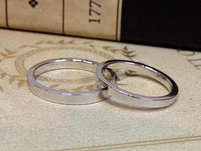 結婚指輪手作りプラン鍛造サンプル6