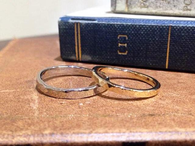 結婚指輪手作り作品ご紹介4