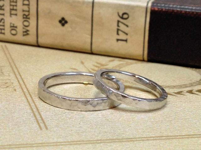 結婚指輪手作りプラン鍛造サンプル5