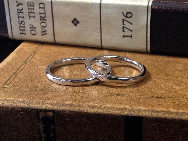 結婚指輪手作りプラン鋳造サンプル1