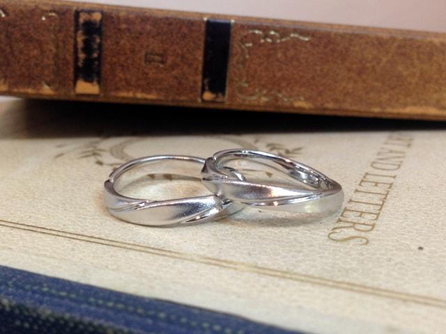 結婚指輪手作りプラン鋳造サンプル4