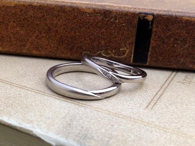 結婚指輪手作りプラン鋳造サンプル6