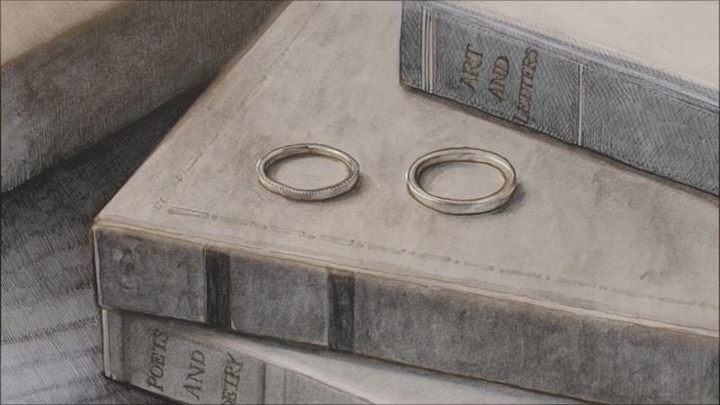 指輪実写への切り替わり