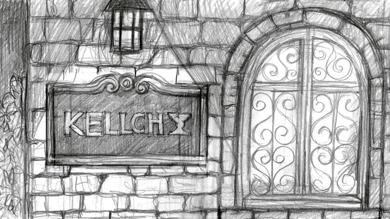 (ラフ)ケルヒ指輪工房窓のシーン