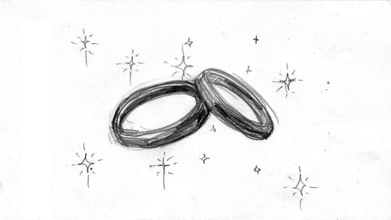 (ラフ)おじいちゃんの指輪